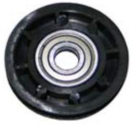 Ruota folle completa di cuscinetti — Idley pulley with bearings